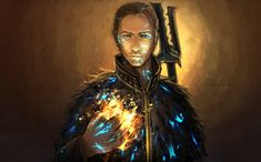 Anders... A much better love interest in DA II, because he doesn't treat you like a one-night stand (ahem...Fenris).