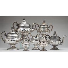 H. Mahler Sterling Silver Tea Service Sold $3,800