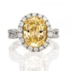 For 25 years, Dover Jewelry & Diamonds has offered unique vintage & antique jewelry. Enhance your collection with authentic pieces of fine jewelry. Yellow Diamond Engagement Ring, Antique Engagement Rings, Unique Vintage, Diamond Jewelry, Antique Jewelry, Vintage Antiques, Fine Jewelry, Fancy, Natural