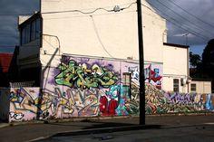 THE DUKE, DIZ, EYP, ID, EC, PRIZM, SPANT (?), Fintan Magee and others.Newtown, Sydney.