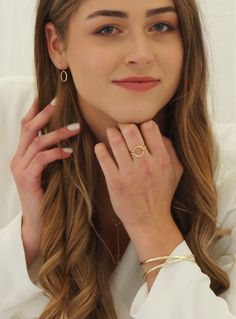 Simple and exquisite, the circle of hope ring is a lovely meaningful design that will become your favourite for an effo. Circle Design, Band, Sterling Silver, Metal, Rings, Color, Jewelry, Sash, Jewlery
