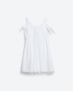 Image 8 of BOW SLEEVE DRESS from Zara