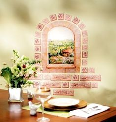 TUSCAN WINDOW MURAL wall sticker 31 BIG decals ITALIAN room decor Bricks grapes. Number of Decals: 31. These decals are safe for walls, which makes them a perfect addition to any home, including renters. | eBay!