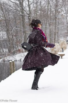 full-skirt coat