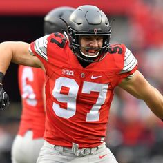 Ohio State's Nick Bosa presents challenge for USC's offensive line in Cotton Bowl Buckeyes Football, Ohio State Football, Ohio State University, Ohio State Buckeyes, Indiana Football, University College, Oklahoma Sooners, American Football, College Football Players