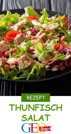 Thunfisch-Salat We'll tell you in the cookbook of GEOlino.de a delicious recipe for tuna salad. He is healthy and tastes guaranteed! Healthy Recipes For Diabetics, Healthy Pastas, Healthy Meals For Two, Healthy Crockpot Recipes, Healthy Salad Recipes, Healthy Breakfast Recipes, Healthy Food, Healthy Eating, Tuna Recipes