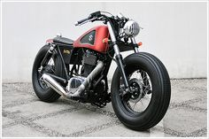Studio Motor Suzuki single bobber