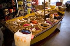 Castaway in Santa Rosa CA- My Fav Yarn Shop. This is a beautiful store, they have incredible yarns and the owner and her staff are great people! A must see if you live in Sonoma County or even if you are passing through. Very cool place.