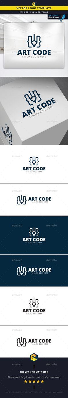 Art Code Logo Template