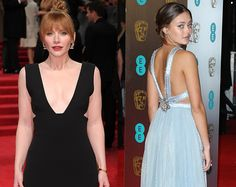 The #2017 #BAFTAs took place in #London and the A-list defied the cold to attend. The two big trends of the night were plunge and backless...