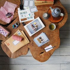 I could be so crafty, if only I had this table.  ; )