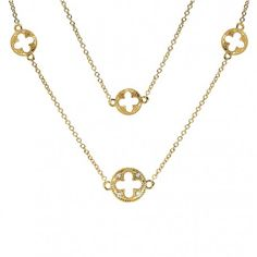 Gold-Plated, Sterling Silver #Necklace