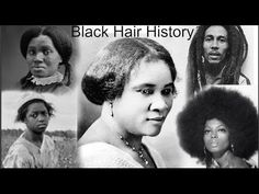 """""""Black Hair in The Media"""" online reference library & pictorial museum. Learn facts about how African hair has been portrayed & stigmatized in mainstream media. Black Hair History, Black History Books, Black History Facts, Black Girls Hairstyles, Cool Hairstyles, Braids For Kids, Kid Braids, Tree Braids, Natural Hair Care"""