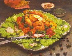 Chicken Chargha Recipe - Pakistani Main Course Chicken/Bird and Kabab/Grill Dish - Fauzia's Pakistani Recipes - The Extraordinary Taste Of Pakistan