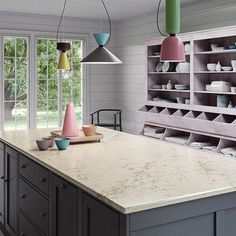 Bring incredible brightness and beauty to your home with a custom-fabricated set of quartz countertops from the premier natural stone specialist, AA Marble & Granite. Countertops, Small Kitchen, Order Kitchen, Modern Kitchen, Kitchen Linens, Classic Plates, Kitchen Design, Kitchen Applicances, Ikea Kitchen