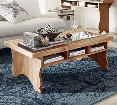 Sicily Coffee Table #potterybarn