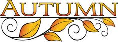 Fall and autumn clipart seasonal graphics