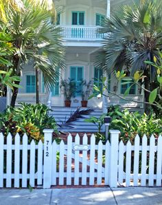 Key West Florida - Fantasyfest 2012. Beautiful old Key West homes that have withstood the test of time