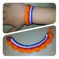 koningsdag haken at DuckDuckGo Crochet Designs, Crochet Patterns, Crochet Ideas, Crochet For Kids, Knit Crochet, Embroidery Needles, Creative Decor, Crochet Accessories, Hobbies And Crafts