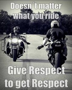 Call them what you will; Motorcycle Memes, Biker Quotes, or Rules of the Road - they are what they are. A Biker& way of life. Ride Out, My Ride, Honda Shadow 600, Rider Quotes, Virago 535, Motos Harley, Harley Freewheeler, Harley Bikes, Side Car