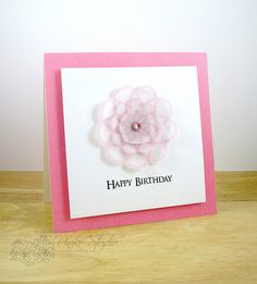 Happy Birthday by DT Member Amy Wanford (Aimes) Happy Saturday, Happy Weekend, Birthday Cards, Happy Birthday, Show And Tell, Clear Stamps, Scrapbooks, Card Making, Paper Crafts