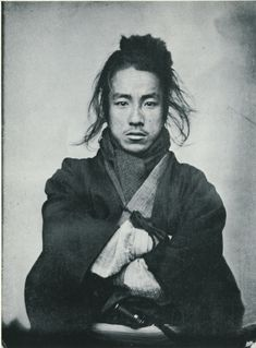 Anonymous - Portrait of a young man (1860-65) early japanese photography 04