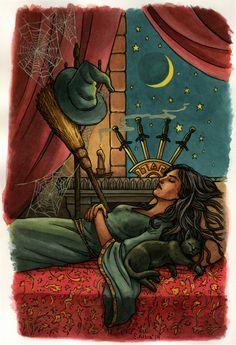 Retro Witch Tarot