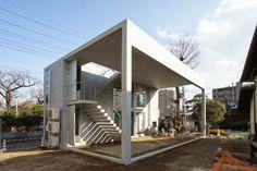 藤野高志/生物建築舎による「鹿手袋の離れ」