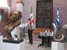 """""""El violinista en el tejado"""", en el Instituto Cultural México-Israel  - http://masideas.com/2014/11/24/el-violinista-en-el-tejado-en-el-instituto-cultural-mexico-israel/"""