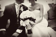 how beautiful; love black and white photos for weddings
