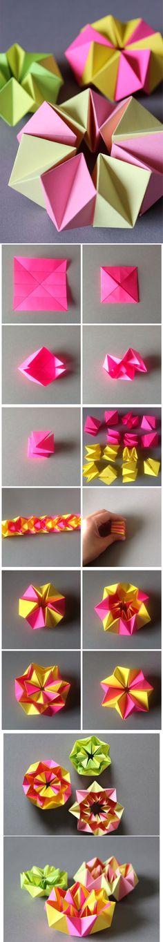 DIY – Neon Kaleidoskop