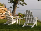 Adirondack Chairs in four different styles!