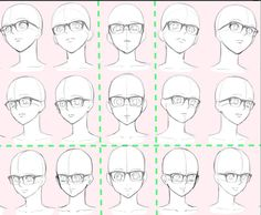 Different glasses angles