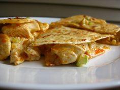 A Taste of Home Cooking: Buffalo Chicken Quesadillas
