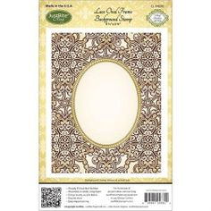 Justrite Papercraft Cling Background Stamp, 4.5 by 5.75-Inch, Lace Oval Frame Justrite http://www.amazon.com/dp/B00EDHUKLK/ref=cm_sw_r_pi_dp_KhGKtb1MMV7PK0VN