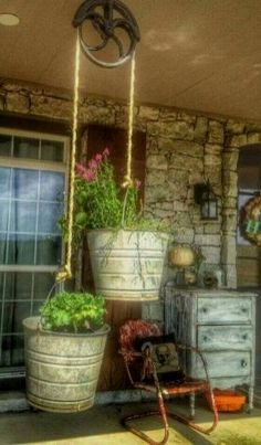 A beautiful porch always holds eyes on people. And the farmhouse style porch seems to be very enjoyable right now. It looks so cozy and nice. So, if you are thinking what your porch could look like…MoreMore  #farmhouselandscaping