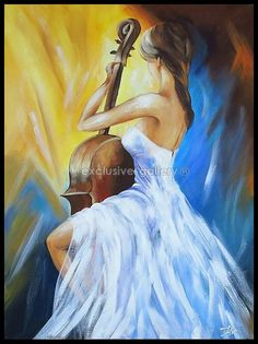 photo du tableau Tableau n 6875 Figure Painting, Painting & Drawing, Figure Drawing, Acrylic Art, Acrylic Nails, Pictures To Paint, Art Music, Painting Inspiration, Female Art