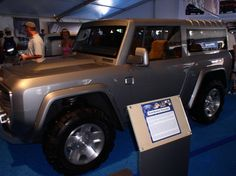 2015 Ford  Bronco Concept Vehicle
