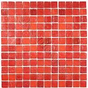 """Creative Decore 1"""" x 1"""" Opaque, 1"""" x 1"""", Tricycle Red Blend, Glossy, Red, Glass"""