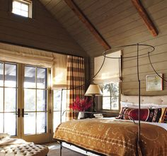we're going for rustic, but still want some color...