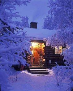 The Little Winter Cabin on Hoot Owl Hill🦉 Winter Szenen, Winter Cabin, Winter Love, Cozy Cabin, Winter Night, Winter Christmas, Snow At Night, Deep Winter, Snow Scenes