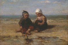 Jozef Israëls - Kinderen aan het strand