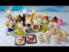 Charm Update #23: Bunnies, Shappo Cards and Kawaii Objects - YouTube