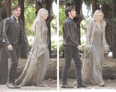 "Colin & Jennifer filming on July 14, 2015 episode 5x01 ""Dark Swan"""