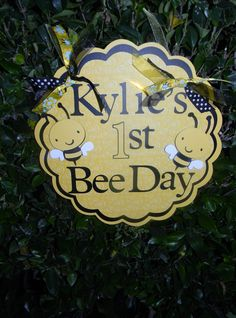 Happy BEE Day! Such a cute idea!!