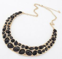 Exaggeration Personalized Metal Necklace Jewelry For Women