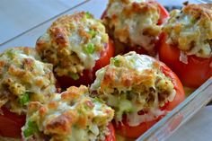 Italian Stuffed Tomatoes - Mother Thyme
