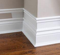 Home Renovation, Home Remodeling, Kitchen Remodeling, Bedroom Remodeling, Deco Design, Design Case, Diy Casa, Moldings And Trim, Faux Crown Moldings