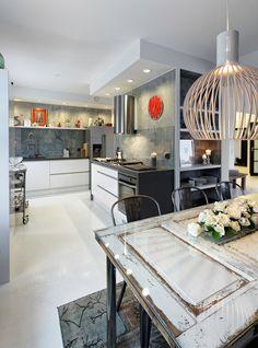 loft @ Asuntomessublogit Deco Interiors, Kitchen Dining, Loft, House, Ideas, Home Decor, Decoration Home, Home, Room Decor