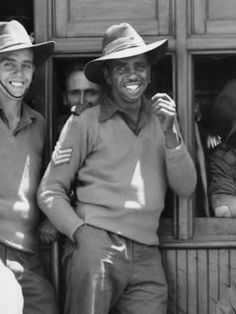 Reg Saunders MBE (1920 – 1990) (Reginald 'Reg' Saunders was the first Aboriginal person to be commissioned as an officer in the Australian Army)